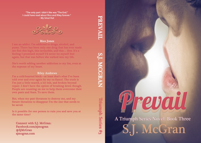 Prevail Paperback Cover
