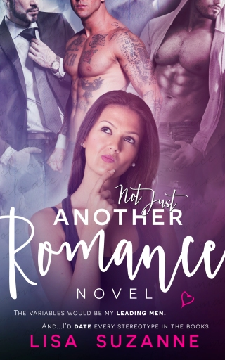 NOT JUST ANOTHER ROMANCE NOVEL LISA SUZANNE AMAZON KINDLE EBOOK COVER