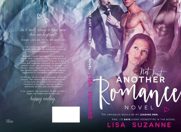NOT JUST ANOTHER ROMANCE NOVEL LISA SUZANNE FULL JACKET FOR SHARING