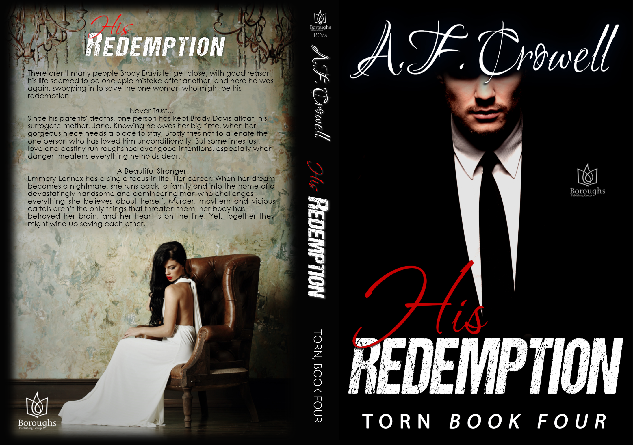 AF Crowell His Redemption Wrap